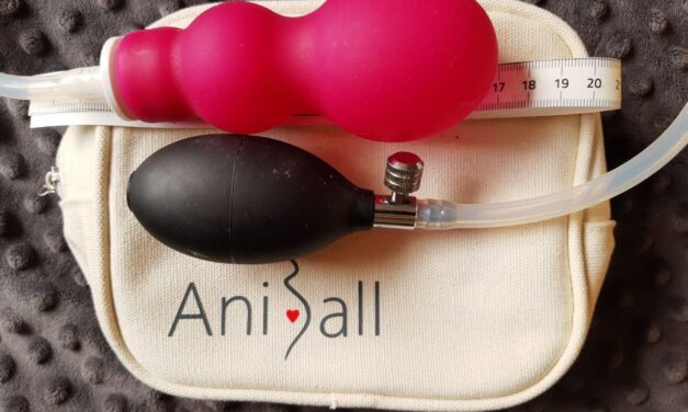 Aniball balónek a mé cvičení s aniballem dopodrobna